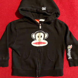 Paul Frank classic Julius zip-up hoodie